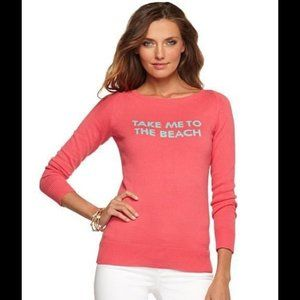 Lilly Pulitzer Take Me To The Beach Sweater